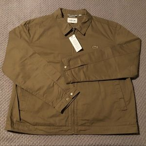 NEW Lacoste Twill 100% Cotton Blouson Coat BH3925